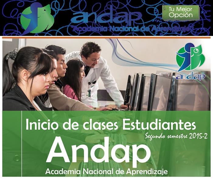 inicio clases 2015-2 andapbogota