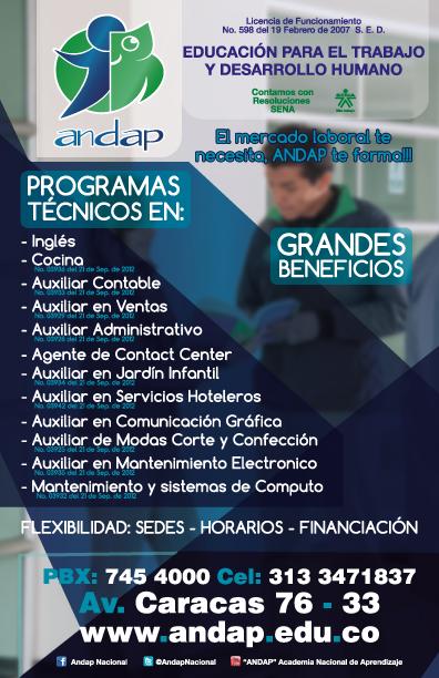 2019-1-BOGOTÁ Programas matriculass