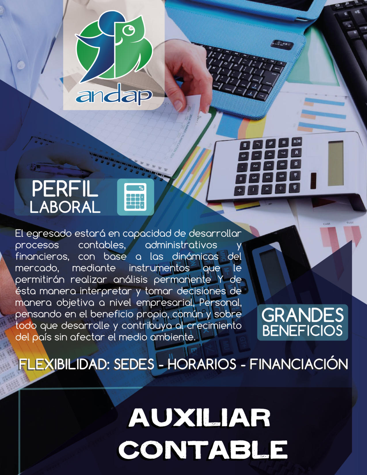 Auxiliar Contable Bogotá ANDAP