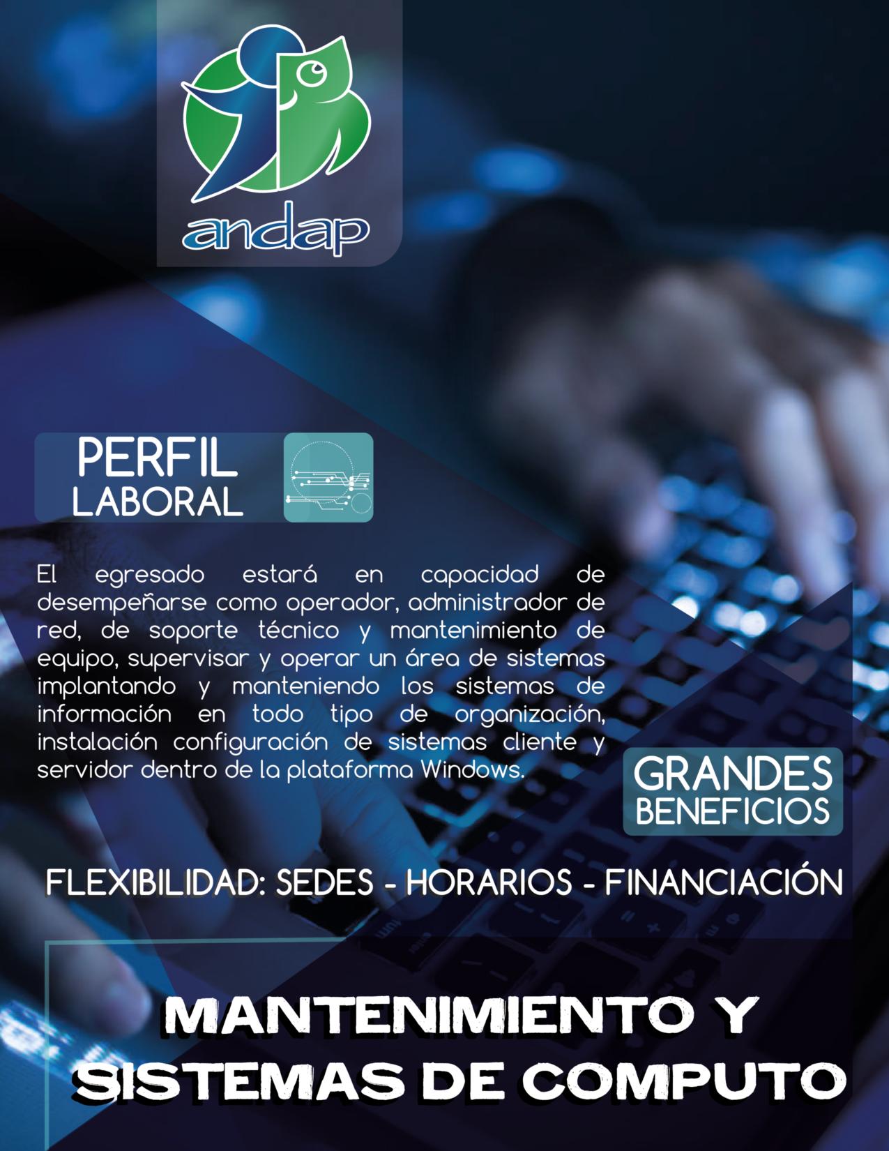 Mantenimiento y Sistemas de Computo Bogota ANDAP