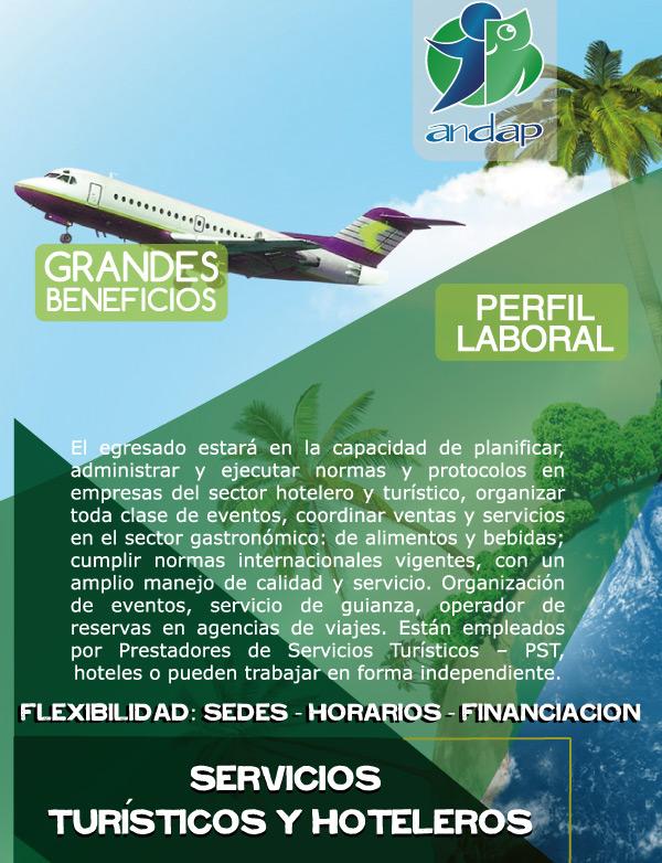 Servicios Turísticos y Hoteleros - Manizales ANDAP