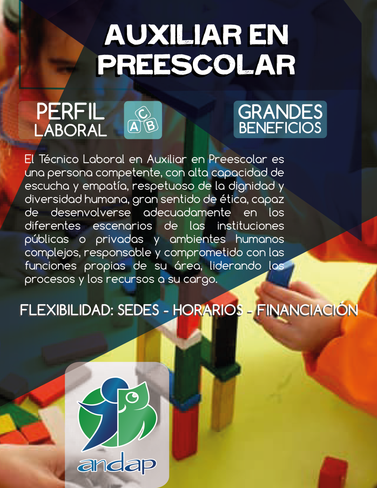 Auxiliar en Preescolar
